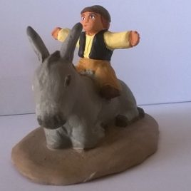 Le garçon sur l'âne