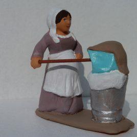 La bugadière enceinte