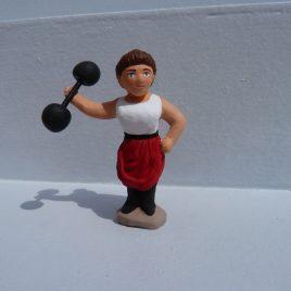 Le lutteur de foire féminin