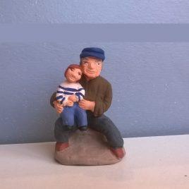 Papé et son pitchoun