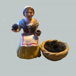 Vendeuse d'oursins